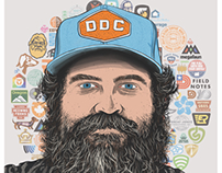 Aaron Draplin Digital Illustration