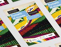 TCBF / Fumetti al museo graphic design