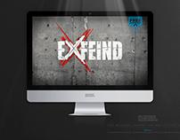 EXFEIND • THE LOGO • v1 LIGHT EDITION • Free Wallpaper