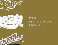 Old letterings (2008-10)