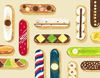∙ E ∙ is for Éclairs