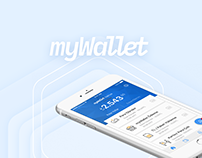 myWallet Mobile App by Mobven