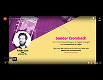 Live from AWWWARDS with Sander Crombach