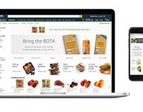 Amazon Fresh ads