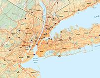 RPA Region Map