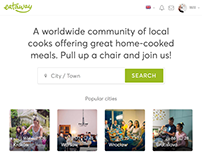 Eataway - Co-founded, Design & Build