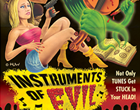 """Instruments of Evil"" B-movie Poster"