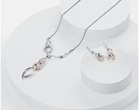 Platinum Evara Jewellery