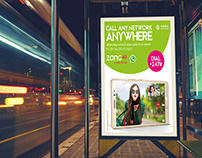 Poster Design | WhatsApp Campaign | ZONG 4G
