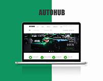 AUTOHUB | UX/UI design