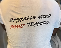 T-shirt for sports professional trainer