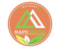 Logotipo Maipo Místico, Chile.
