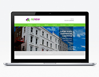 Renew Website - Redesign