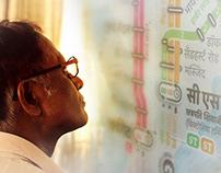 Mumbai Rail Map - Print Design in 5 Languages