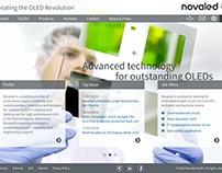 Novaled Website