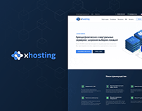 xhosting - hosting provider website