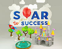 """""""Soar to Success"""" Conference Branding"""