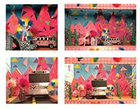 """Priscilla Queen of the Desert"" Stage Design Concept"