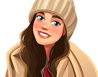 Illustration of Masha:)