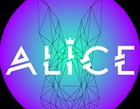 Alice_ Logotipo for a chilean artist