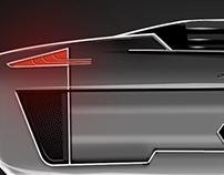 Old Automotive conceptual sketchwork
