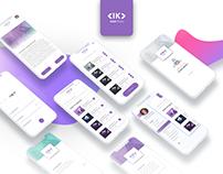 Mobile User Interface Design: Ik Ecommerce App