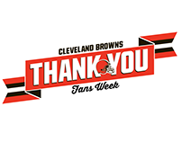Cleveland Browns: Thank You Fans Week