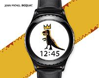 MR TIME x Jean Michel Basquiat