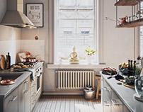 Apartment Kitchen...