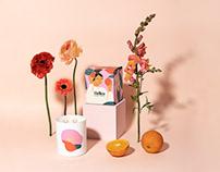 Packaging illustrations for Hellen