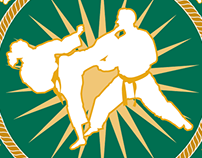 Wright State University Karate Club Logo