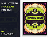 Halloween Nuclear Poster