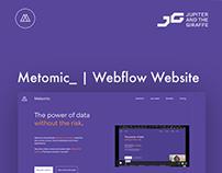 Metomic | Website Build
