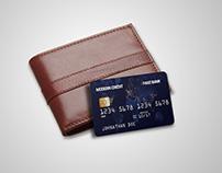 Credit Card Mock-Up