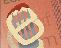 Typeface Poster: Eurostile