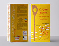 il risotto perfetto • zafferano • riso • Packaging