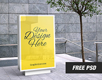 Free Outdoor Advertising Mockup #2