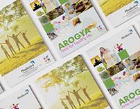 Wellness Product catalogue Design for Modicare