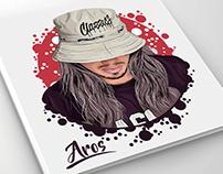 illustration (Aros Hip Hop 90's)
