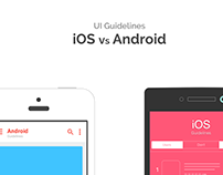 UI Guidelines iOS Android