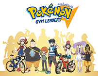 Pokémon Gym Leaders | Design project