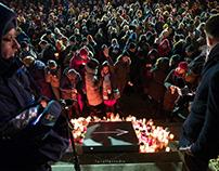 A Candle for President Adamowicz, Warszawa, 15.01.19