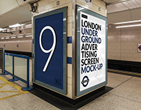 London Underground Ad Screen Mock-Ups 14