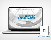 Web Design & Programing // Peters + Grau