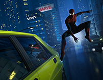 SPIDER-MAN(fan art)