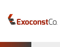 Exoncost Construction Co. Logo Design
