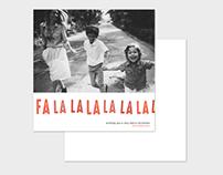 Christmas Card Template - Falalalalalalala