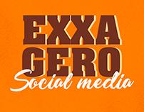 Social Media Exxagero Lanches
