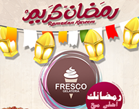 Fresco Gelateria Ads