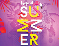 Tropical Summer V2 Flyer Template